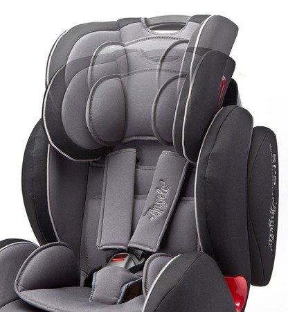 Caretero Fotelik samochodowy Angelo Fix 9-36 kg GRAPHITE