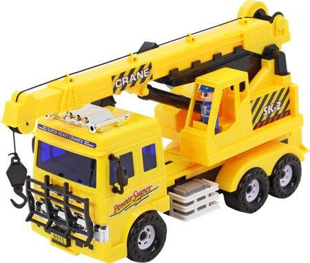 Ciężarówka - dźwig, żuraw