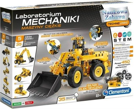Clementoni: Laboratorium Mechaniki Maszyny Ciężkie