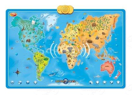 Dumel (60846): Interaktywna Mapa - zwierzęta świata