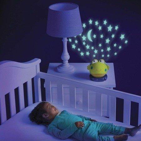 Dumel Bright Starts Projektor Lampka Żabka