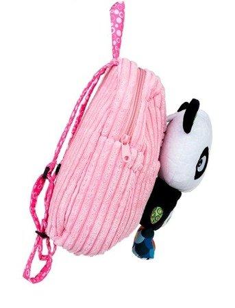 Dumel Plecak panda przedszkolno wycieczkowy