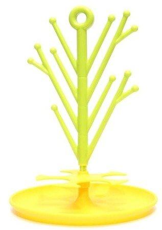 Dumel Stojak do suszenia gryzaków limonka