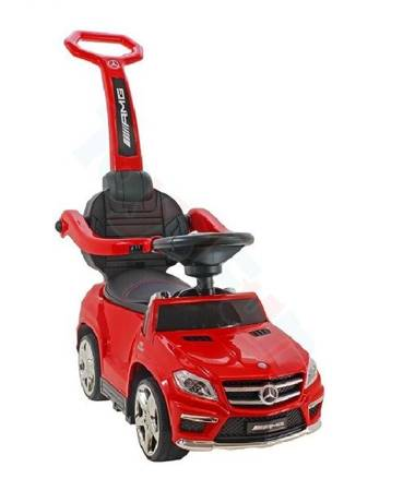 Jeździk pchacz bujak Mercedes GL63 AMG 5w1 czerwony