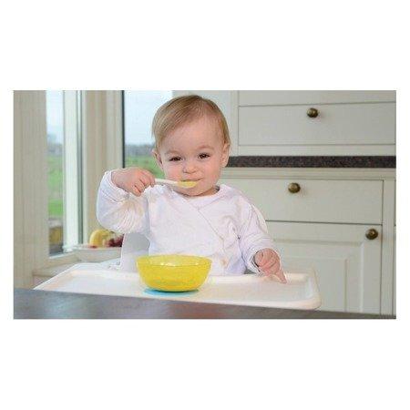 Kidsme: Miska z przyssawką limonka