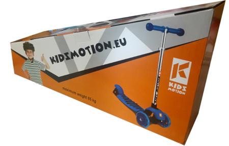 Kidz Motion: Hulajnoga Rapid niebieska