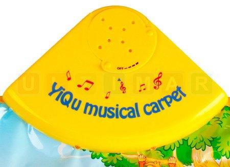 Muzyczna mata dla niemowląt: Zwierzątka