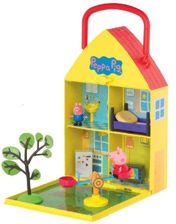 Peppa PEP06156 Domek Peppy z ogrodem i figurką