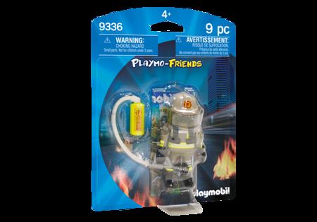 Playmobil Figurka Strażak z akcesoriami