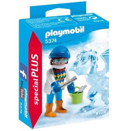 Playmobil Rzeźbiarka z lodową rzeźbą