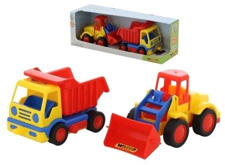 Polesie Wader 42101 Wywrotka + Traktor ładowarka Basics