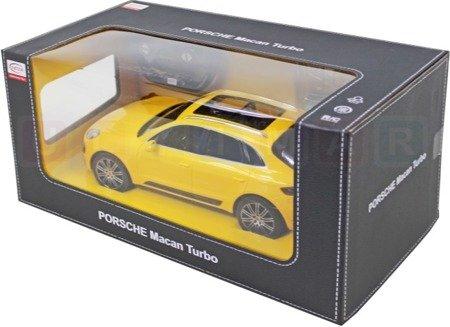 Rastar Zadalnie sterowane Porsche Macan turbo 1:14
