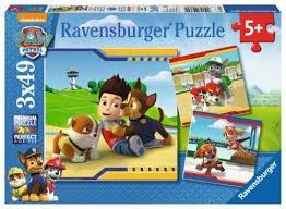Ravensburger RAP093694: Puzzle: Psi patrol: Najlepsi przyjaciele, 3x49 el.
