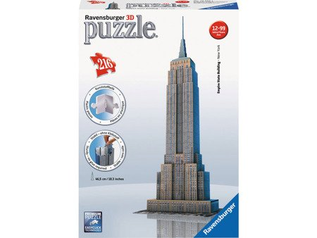 Ravensburger (RAP125531): Puzzle 3D Empire State Building 216 el.
