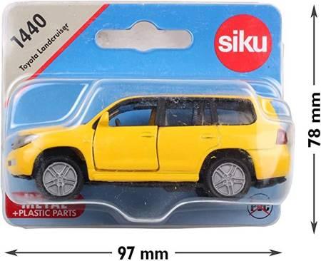Siku 1440: Toyota Landcruiser