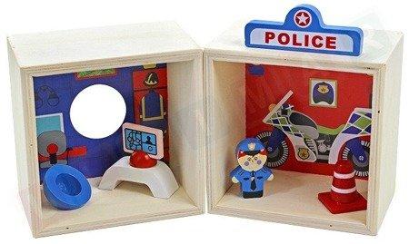 TIMA: Drewniany posterunek policji
