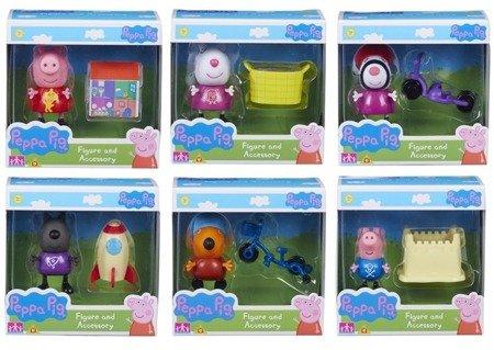 Tm Toys Świnka Peppa Zestaw figurka + akcesoria