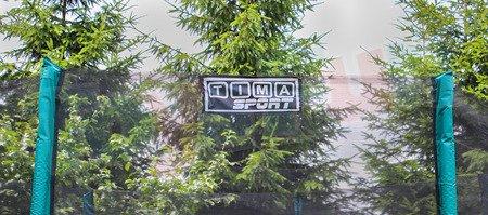 Trampolina 8ft 244 cm - ULTIMAR PREMIUM zielona