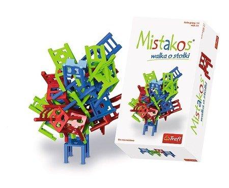 Trefl (01367): Gra zręcznościowa Mistakos - walka o stołki
