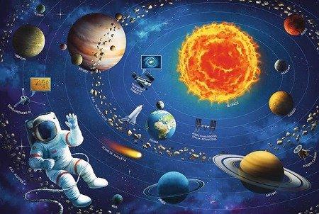 Trefl (15507): Puzzle edukacyjne 100 el. - Układ słoneczny