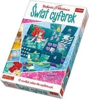 Trefl Gra edukacyjna Świat Cyferek Princess liczby