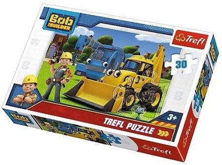 Trefl Puzzle 30 el. Nowe wyzwanie Bob budowniczy