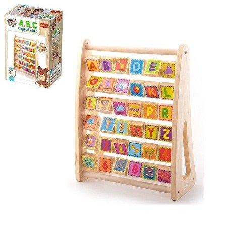Trefl Zabawka Drewniana A,B,C Czytać chcę