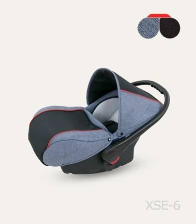 Wózek dziecięcy Camarelo Sevilla 3w1 Niebieski