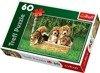 Trefl (17166): Puzzle 60 el.: Małe Beagle